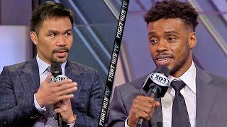 MANNY PACQUIAO VS ERROL SPENCE JR - FULL KICK OFF PRESS CONFERENCE VIDEO