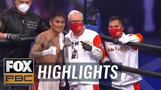 Mark Magsayo and Rigoberto Hermosillo clash in PBC Fight Night main event   HIGHLIGHTS   PBC ON FOX