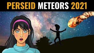 Perseid Meteor Shower 2021 | Perseid Meteors in the Night Skies of August 2021 | Cosmic Fireworks