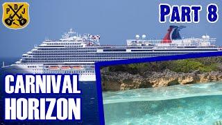 Carnival Horizon Pt.8: Snorkeling At Half Moon Cay, Deli Lunch, Casino, Piano Bar 88 - ParoDeeJay