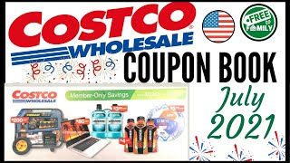 🚨JULY 2021 Costco Coupon Book Preview!🔥Valid (6/23 - 7/24)