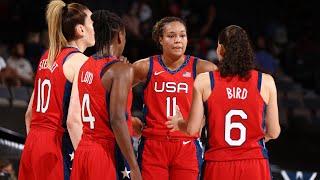 USA WOMEN'S NATIONAL TEAM vs. BASKETBALL AUSTRALIA | FULL GAME HIGHLIGHTS | July 16, 2021
