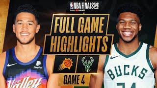 SUNS at BUCKS   FULL GAME 4 NBA FINALS HIGHLIGHTS   July 14, 2021