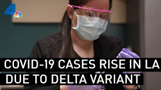 COVID-19 Cases Climbing in LA County With Arrival of Delta Variant | NBCLA