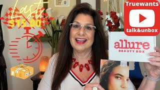 ALLURE Beauth Box July 2021 My LAST $15.00 Box ! Let's Unbox and Talk!