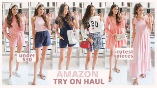 HUGE AMAZON FASHION HAUL 2021 | SUMMER OUTFITS UNDER $35 🌸🌴