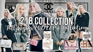 CHANEL 21B COLLECTION WILL HIT THE BOUTIQUES ON JULY 20, 2021(USA) FALL-WINTER 2021/22 | #433 |ℳ.ℳ ♛