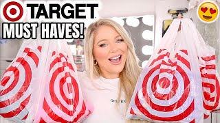HUGE TARGET HAUL | TARGET MUST HAVES & ESSENTIALS (BEAUTY, CLOTHES, HOME DECOR + MORE!)