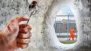 I broke out of a concrete prison cell using ONLY a spoon…