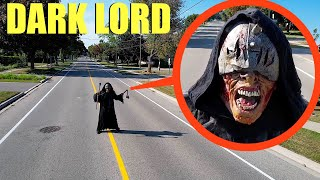 when your drone see's the Dark Lord Demon on the Road, DO NOT try to pass him! (he is bad)