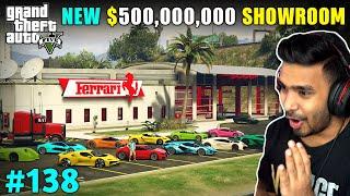 MICHAEL'S NEW CAR SHOWROOM | GTA V GAMEPLAY #138