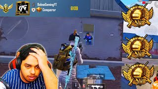 World's Rank 1 Triple Conqueror Bubsa Gaming BEST Moments in PUBG Mobile