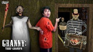 GRANNY : THIEF GRANDPA SHORT FILM : ग्रैनी चोर | HORROR GRANNY : CHAPTER 2 - SLENDRINA || MOHAK MEET