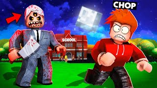 ESCAPING SCARY TEACHER AND HIS SCHOOL ROBLOX
