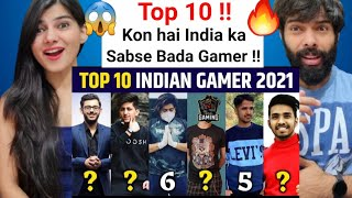Who is No.1 Gamer in India | Top 10 Gaming YouTuber in India 2021, Techno Gamerz, Total Gaming React