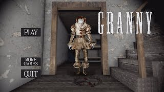 """GRANNY IS PENNYWISE!! (The """"IT"""" Clown) 