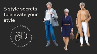 5 secrets to elevate your style