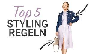 Meine TOP 5 Styling Tipps aus 200 Fashion Videos