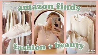 AMAZON FINDS AND MUST HAVES WITH LINKS FASHION + BEAUTY EDITION | TIKTOK MADE ME BUY IT #1