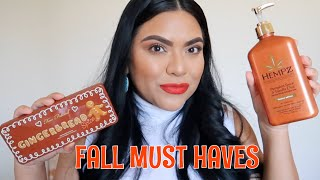 TOP 10 fall must haves | Beauty, fashion, home & food.