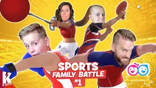 The K-CITY 2021 Sports Gaming Family Battle!!! (Part 1!)