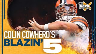 Blazin' 5: Colin Cowherd's picks for Week 1 of the 2021 NFL season | THE HERD