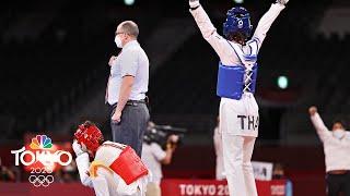 Thailand's Panipak Wongpattanakit wins first taekwondo gold | Tokyo Olympics | NBC Sports