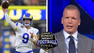 Stafford shows off control in stellar Rams debut | Peacock Sunday Night Football Final | NBC Sports