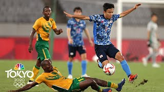 Japan vs. South Africa | Tokyo Olympics 2020: Men's Soccer Highlights | NBC Sports