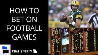 How To Bet On Football: A Beginners Guide To Sports Gambling