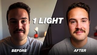 How to Use ONE Light for YouTube Videos