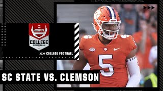 South Carolina State Bulldogs at Clemson Tigers | Full Game Highlights