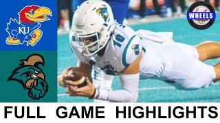 #17 Coastal Carolina vs Kansas Highlights | College Football Week 2 | 2021 College Football