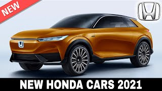 10 New Honda Cars with Smarter Technology to Stay Relevant in 2021