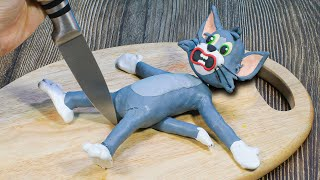 Poor TOM & JERRY in Real Life - Funny Animation   Stop Motion Cooking & ASMR 4K