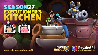 Clash Royale Season 27 Executioner's Kitchen (September 2021) Sneak Peek