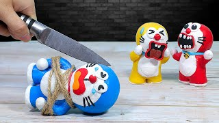 What if DORAEMON is food? Funny Animation   Stop Motion Cooking ASMR 4K