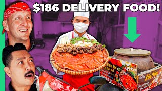 $3 Delivery Food vs $186 Delivery Food in Vietnam!! America Can't Compete!!