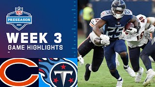 Chicago Bears vs. Tennessee Titans | Preseason Week 3 2021 NFL Game Highlights