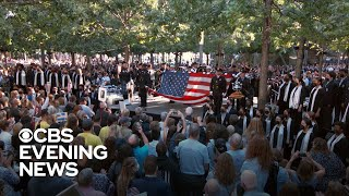 U.S. honors 9/11 victims, heroes on 20th anniversary