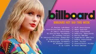 Billboard Hot 100 This Week - Top 100 Billboard 2021 This Week - The Hot 100 Chart Billboard