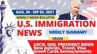 US Immigration News | President Biden, Congress, USCIS Green Card Backlogs News | Week Sep 03, 2021