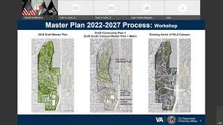 Virtual Master Plan 2022-2027 Town Hall | September 9, 2021 | Event #1