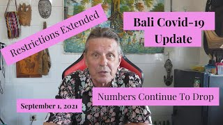 Bali Covid-19 Update:  September 1 , 2021