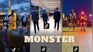 """Best TikTok Compilation On """"Lumix, Monster""""//Monster New Tuzelity Shuffle Dance 2021"""