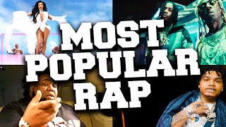 TOP 100 Most Popular Rap Songs 2021 (until September)
