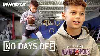 """10-Year-Old QB """"SHOWTIME"""" Has A CANNON! 🔥 