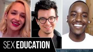 """The """"Sex Education"""" Cast Plays Who's Who"""