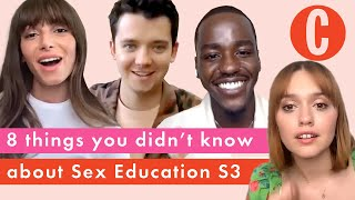 The cast of Sex Education reveal filming secrets from series 3 | Cosmopolitan UK