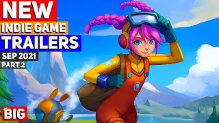 BEST NEW Indie Game Trailers: September 2021 | Part 2